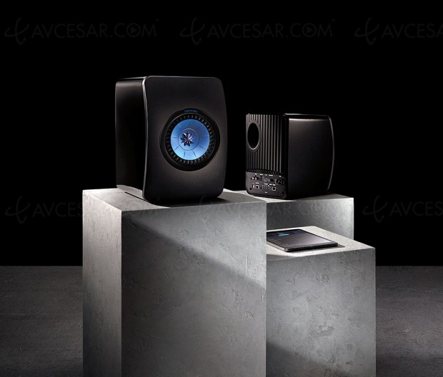 Test Kef LS50 Wireless en ligne