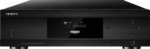 Oppo UDP-205, platine Ultra HD Blu-Ray audiophile