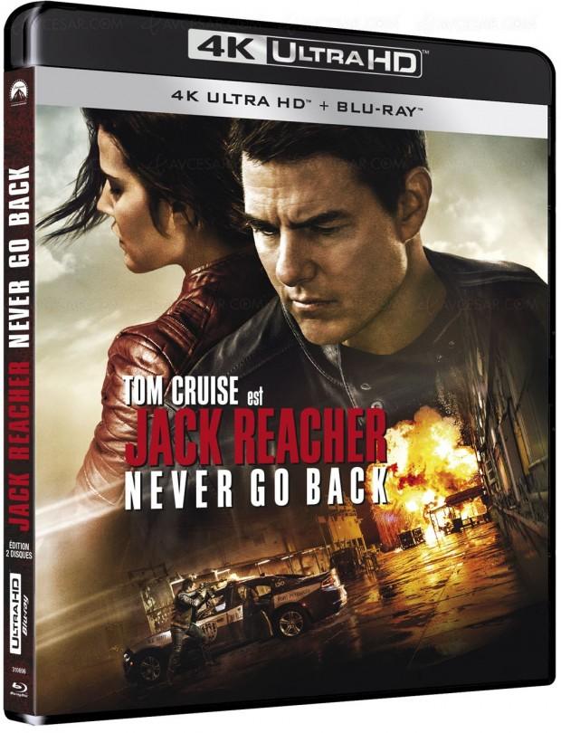Jack Reacher Never Go Back 4K, précisions etvisuels