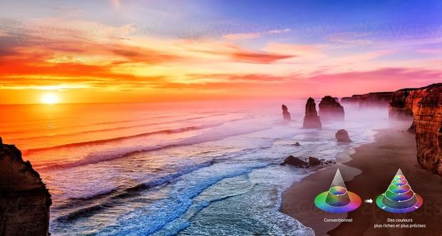 Samsung TV Quantum Dots, dossier complet à découvrir