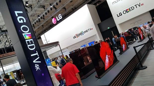 CES 17 > TV Oled LG 2017, 99%DCI‑P3 et1000nits