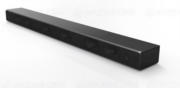 CES 17 > Samsung MS750, barre de son UHQ 32bitAudio avec caisson de bassesintégré