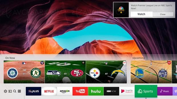 CES 17 > Nouveaux services personnalisés Samsung Smart TV