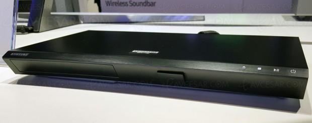 Samsung UBD-M8500, nouvelle platine UltraHD Blu‑Ray