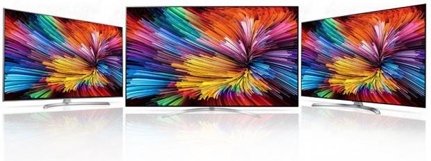 CES 17 > TV LCD Nano Cell LG SJ8000, LG SJ8500 etLGSJ9500: TV«Quantum Dotslike»