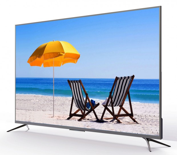 CES 17 > TV LCD UltraHD ThomsonC7606: 10bits, WCG, HDR10/HDRHLG, Android6.0…