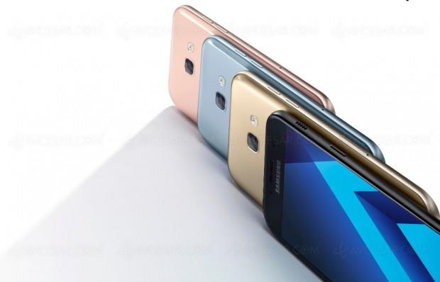 Nouveaux smartphones Samsung GalaxyA3, A5 etA7