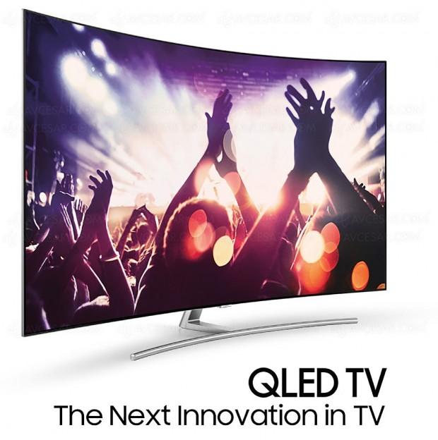 CES 17 > TV QLED Samsung Q7, Samsung Q8 et Samsung Q9