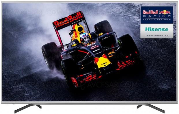 CES 17 > TV Uled 3.0 Hisense NU9700, un70