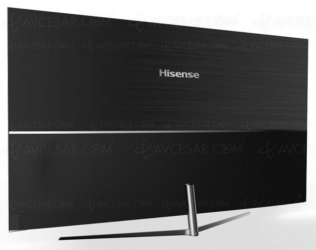 CES 17 > TV Uled 3.0 Hisense NU8700, deux modèles design HDRSupreme