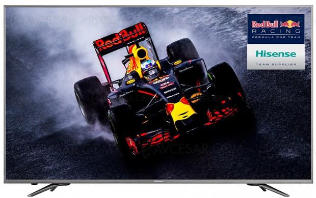 CES 17 > TV Uled 3.0 Hisense N6800, six modèles HDRPlus