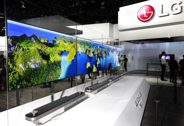 CES 17 > TV Oled LG 2017, abandon total de la 3D !