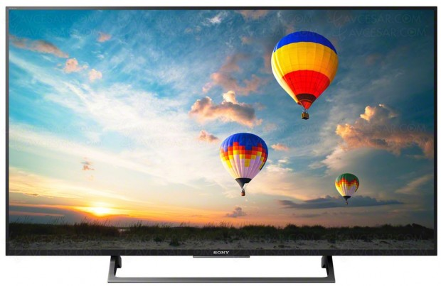 CES 17 > TV LED Ultra HD Sony XE8005, trois modèles enapproche, bis