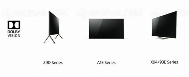 CES 17 > TV LED Ultra HD Sony ZD9, mise à jour Dolby Vision à venir
