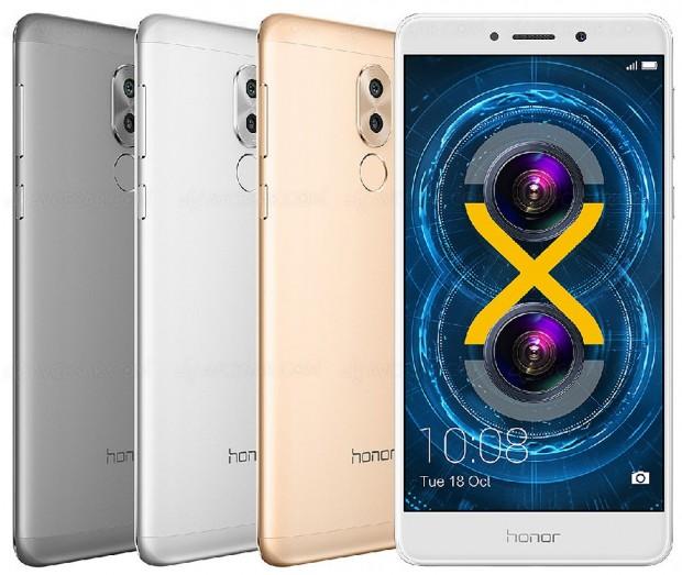 CES 17 > Honor 6X, smartphone doublecapteur