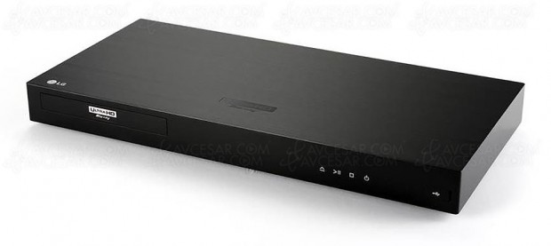 CES 17 > Platine Ultra HD Blu-Ray LGUP970, mise à jourphoto