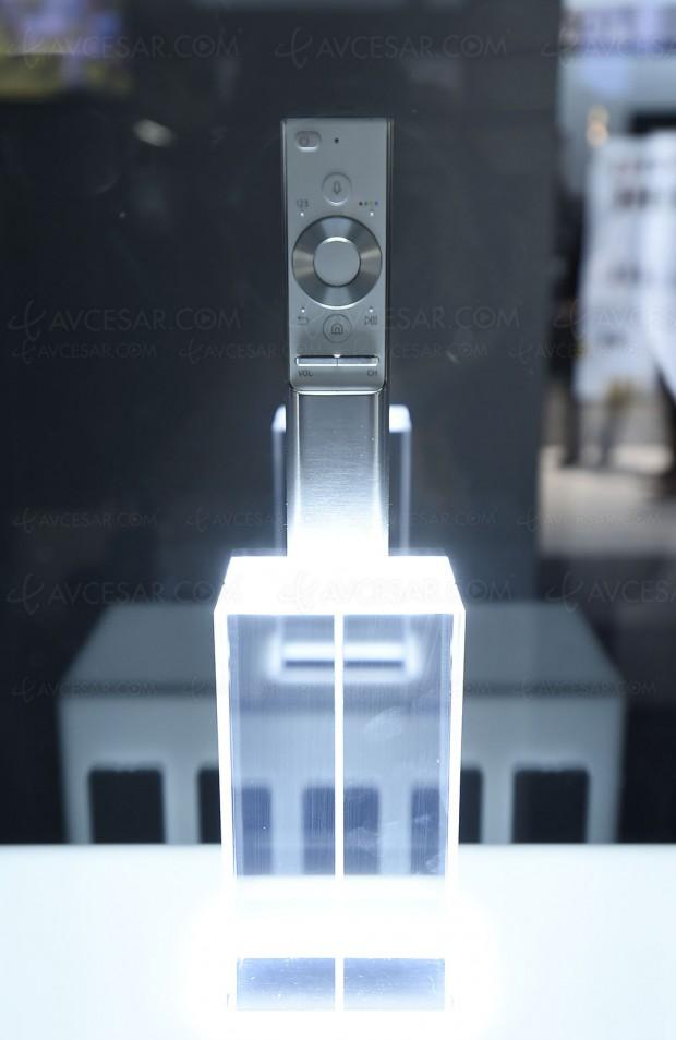 CES 17 > TV QLED Samsung Q7/Q8/Q9, nouvelle télécommande