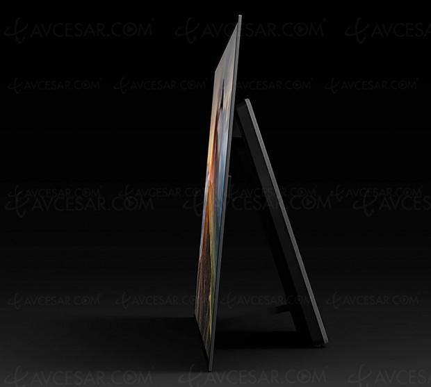 CES 17 > TV Oled Sony A1, salve de détails sur les spécifications