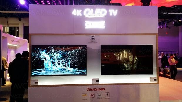 CES 17 > TV Oled ChangHong Q3A, deux diagonales annoncées