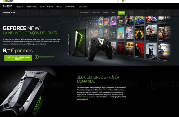 CES 17 > Cloud Gaming GeForce Now bientôt sur Mac etPC