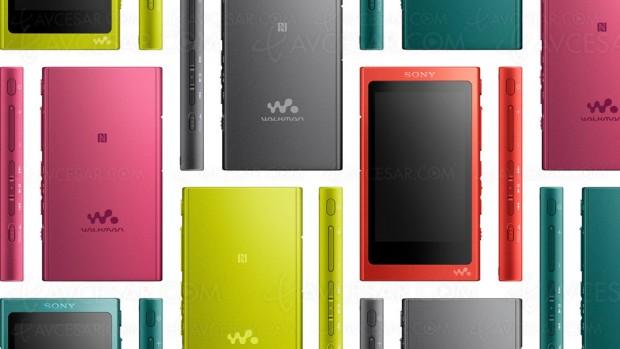 CES 17 > Walkman Bluetooth Sony NW‑A35