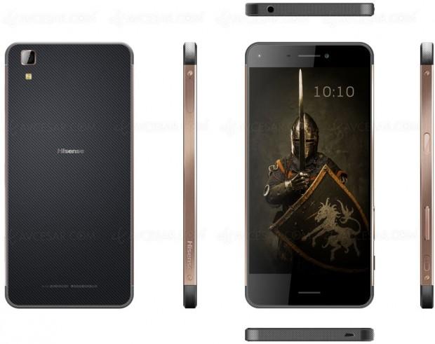 CES 17 > Hisense Rock, smartphone 4G Android7.0IP68/IK05