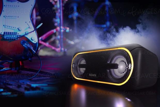 CES 17 > Nouvelles enceintes Bluetooth Extra Bass SonySRS‑XB10/XB20/XB30 etSRS‑XB40