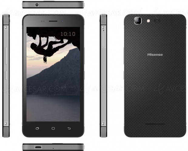 CES 17 > Hisense Rock Mini, smartphone 4G Android 7.0 IP67