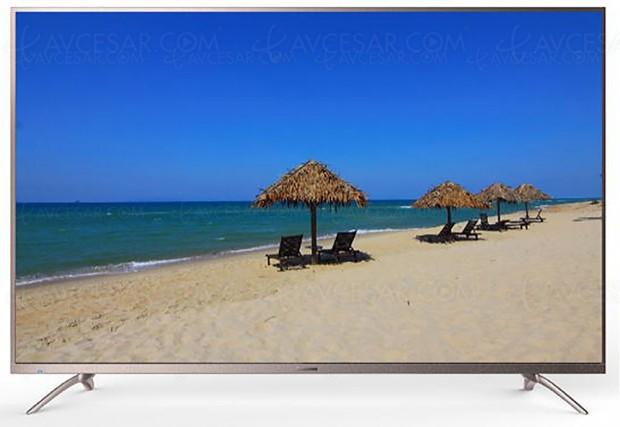 CES 17 > TV LED Ultra HD Chiq ChangHong75E7000ISX2
