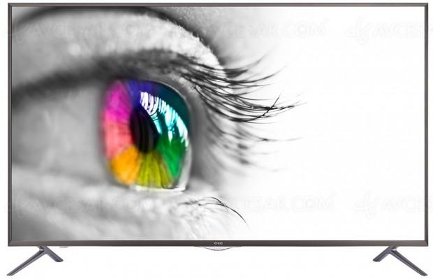CES 17 > TV LED Ultra HD Chiq ChangHong6600ISX2, deux nouvellesdiagonales 50