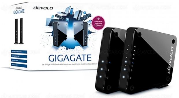 Devolo GigaGate, bridge Wi-Fi pour un meilleurréseau