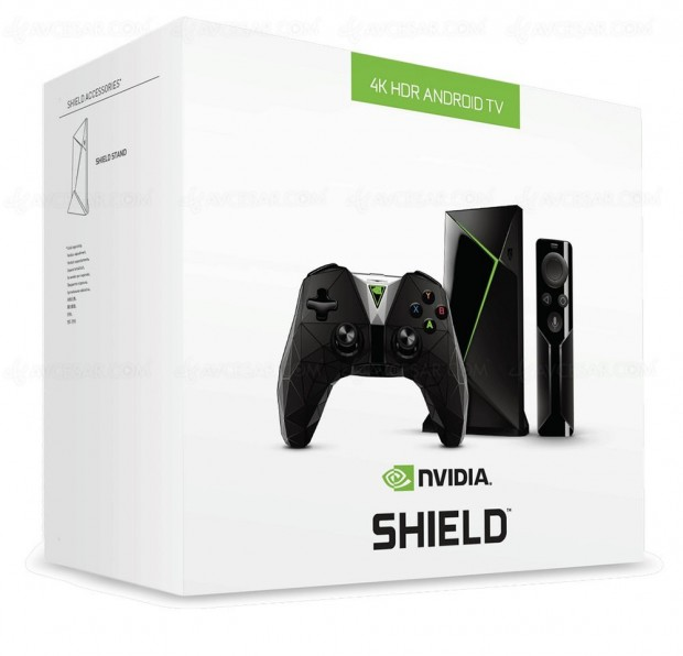 Nvidia Shield TV, nouvelle version Android 7.0 disponible