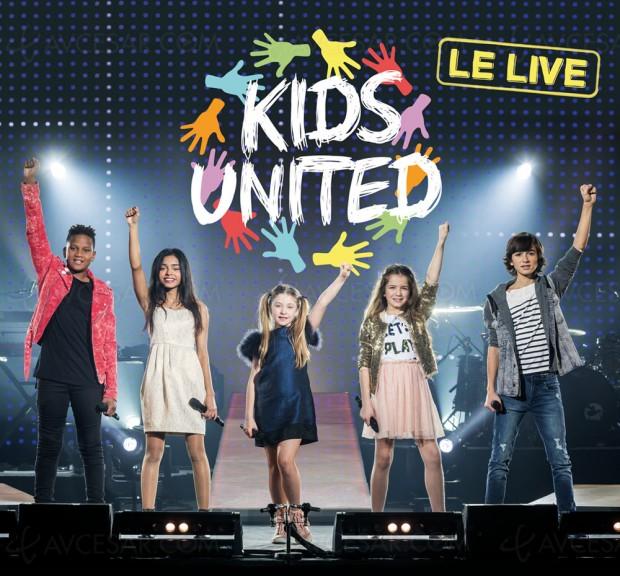 Kids United le live, mobilisation des enfants pourl'Unicef