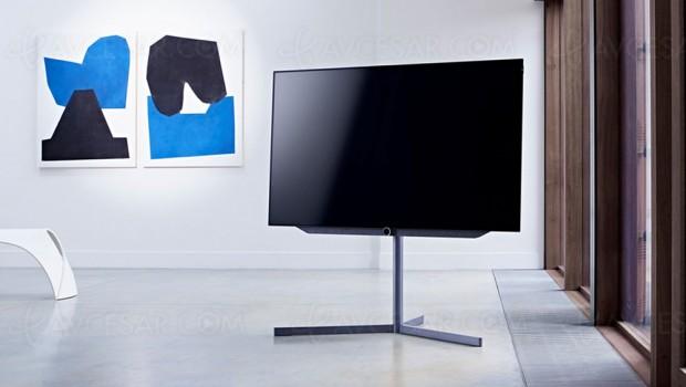 Test TV Oled Loewe Bild7.55, enligne
