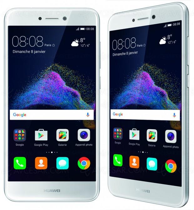 Huawei P8 Lite 2017, objectif photos et selfies