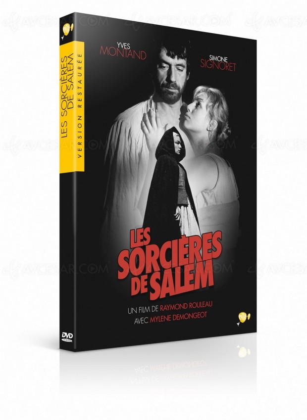 Simone Signoret et Yves Montand dans Les sorcières deSalem