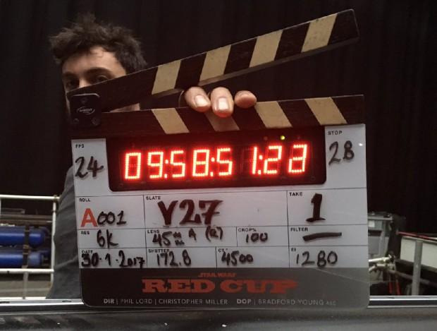 Film Star Wars Han Solo, c'estparti