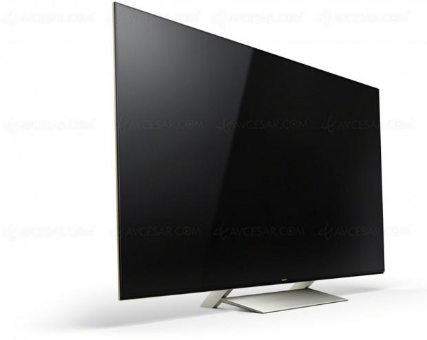 TV LED UHD Sony XE9305, mise à jour prix indicatifs