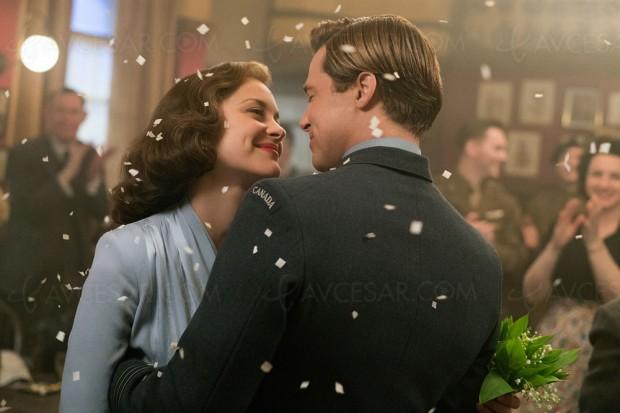 Alliés en Ultra HD Blu-Ray, avec Marion Cotillard et Brad Pitt