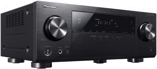 Pioneer VSX-531D, amplificateur 5.1, 3D, HDMI2.0a, HDCP2.2 etBluetooth