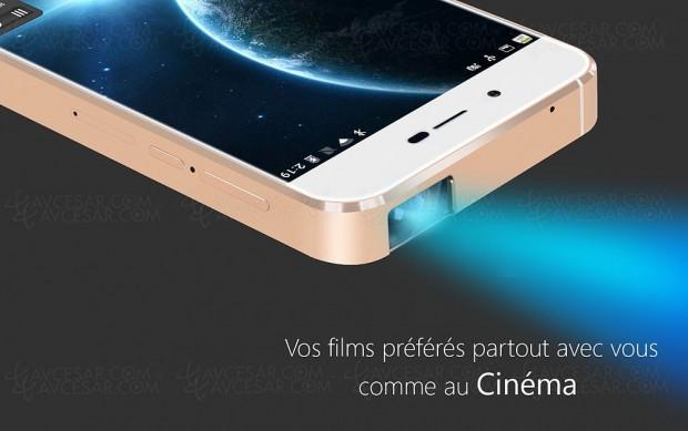 Fusion, smartphone avec vidéoprojecteur laserintégré