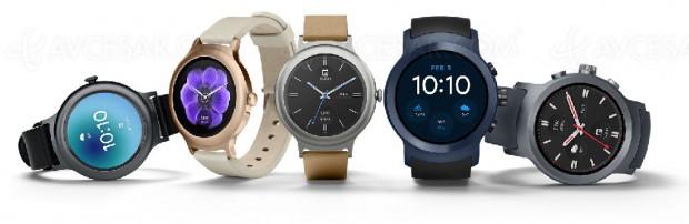 Android Wear 2.0 et nouvelles montres connectées LG Watch