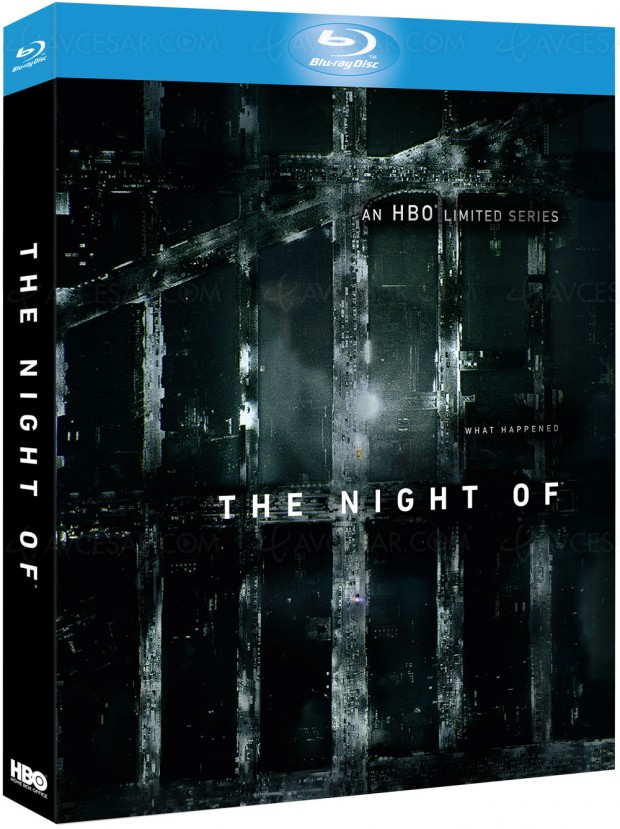 The Night of en Blu-Ray/DVD, mini série, maxieffet