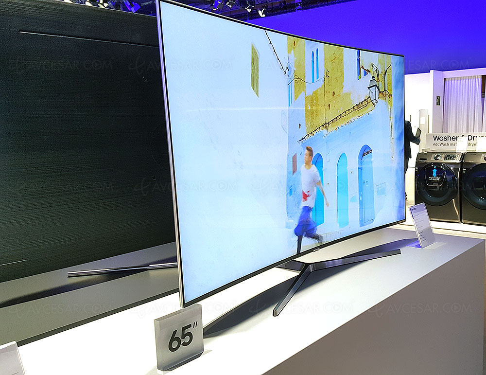 Tv led courbe ultra hd samsung mu9000 49 55 65 annonc s - Canalplay com multiecrans ...