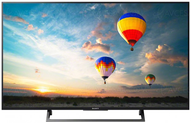 TV LED UHD Sony XE8096, mise à jour référence et prixindicatifs