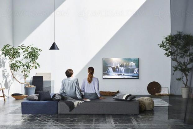 TV LED Ultra HD Sony 2017, mise à jourspécifications