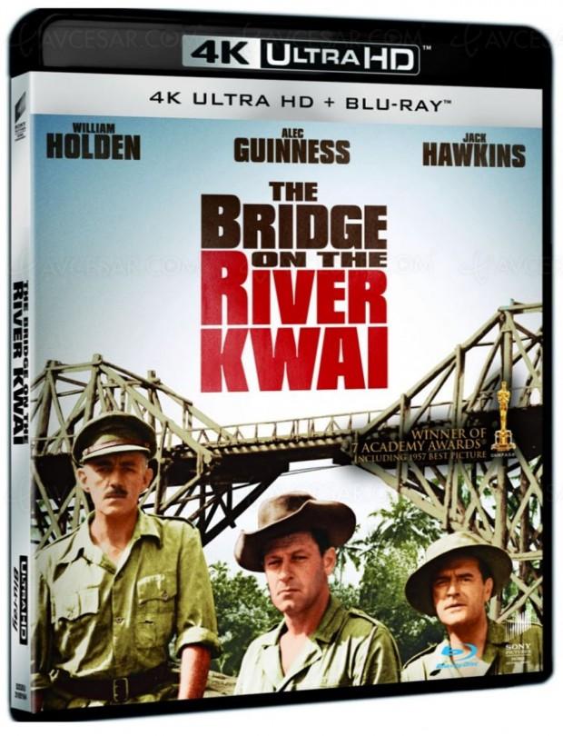 Le pont de la rivière Kwai en Ultra HD Blu-Ray pour Noëlprochain?