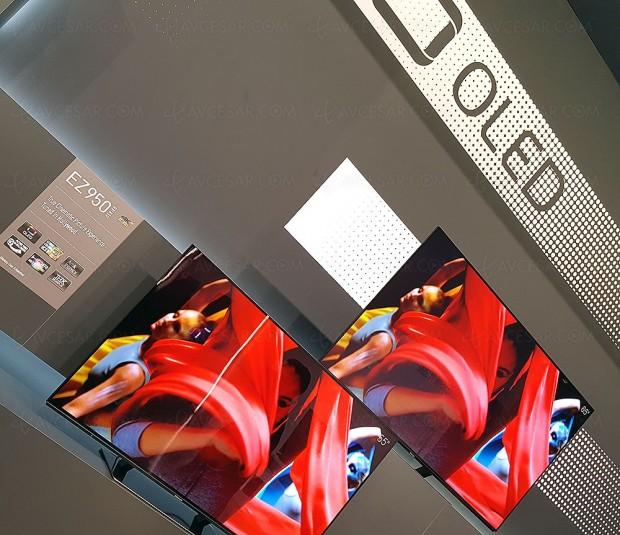 TV Oled Panasonic EZ950/EZ1000, mise à jour prix indicatifs et très haut pic de luminosité…