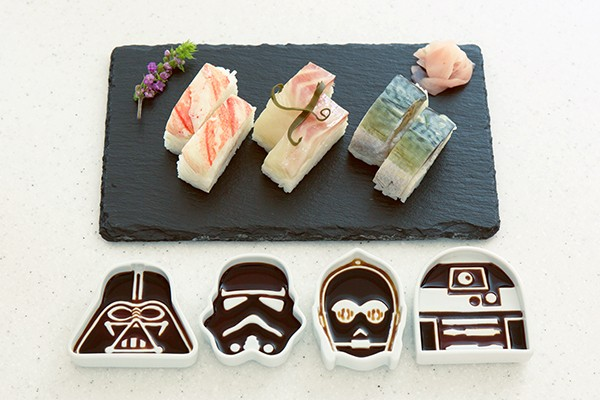 Coupelles à sauce soja Star Wars : le sushi contre-attaque