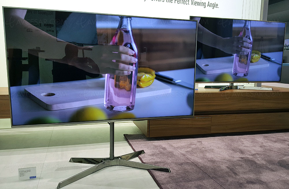 TV LED Ultra HD Panasonic EX780, quatre références au catalogue